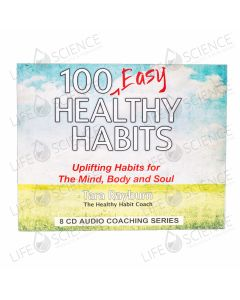 100 Easy Healthy Habits Audio CD's - Tara Rayburn