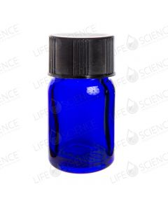 2 ml Cobalt Blue Bottle with Reducer (12-pack) Unbranded