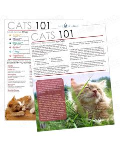 Cats 101 Tear Pad (50 Sheets)