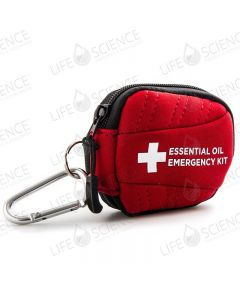 Aroma Tote 16 vial 2-ml or 5/8 dram Emergency Kit Case (Red)
