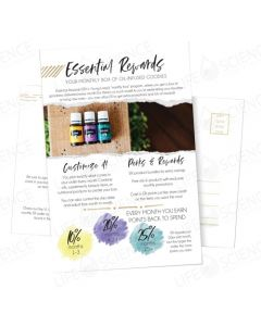 New Essential Rewards Postcard (10 Pack)