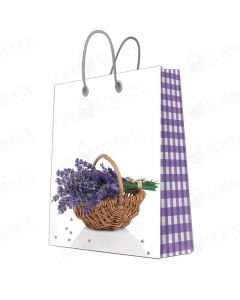 Lavender Basket Gift Bags Mini (20-pack)