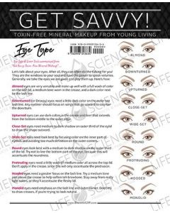Get Savvy! Eye Type (50 Sheets)