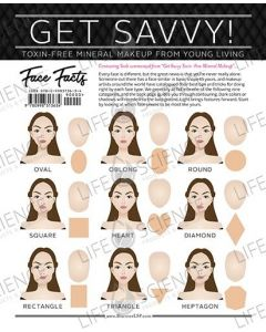 Get Savvy! Face Facts (50 Sheets)