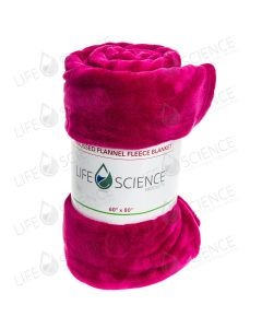 Microplush Fleece Young Living Blanket (Fuchsia)