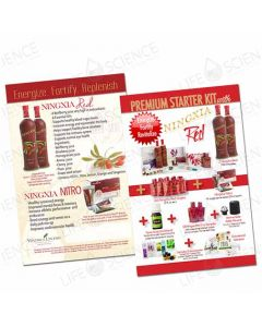2018 Premium Starter Kit with Ningxia Red Flyer (100 pack)