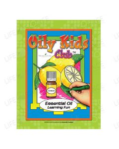 Oily Kids Club Coloring Book - Amanda Cooper