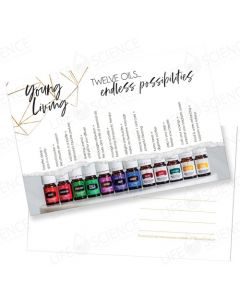 Twelve Oils... Endless Possibilities Postcard (10 pack)