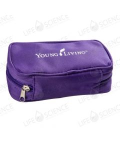 Aroma Tote Travel Zip Pouch 10 Vial 15-ml (Purple)