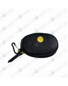 Small Black Keychain Pouch w/Gold YL 5 x 2 ml & 3 x 10 ml