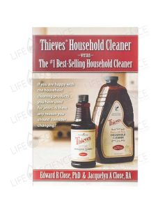Thieves Household Cleaner Brochure (10-pack) - Edward R Close PhD & Jacquelyn A Close RA
