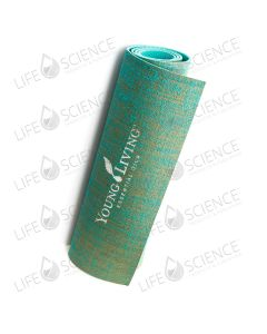 Young Living Hemp Yoga Mat Green